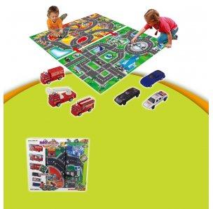 Розвиваючий дитячий килимок 2 в 1 з набором іграшок (80 * 70 см) My Dream Mat від Meying