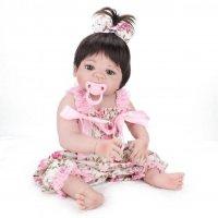 Кукла реборн девочка полностью виниловая (можно купать)