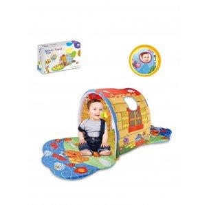 Розвиваючий дитячий килимок Будиночок з набором іграшок (74 * 40 * 58 см) від Meying