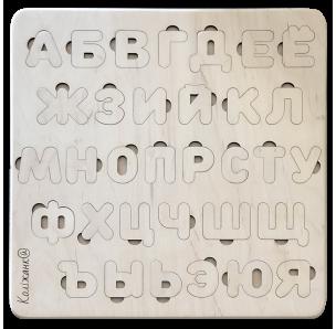 Пазл-сортер Дерев'яна Азбука Коліжанки (Російський алфавіт)